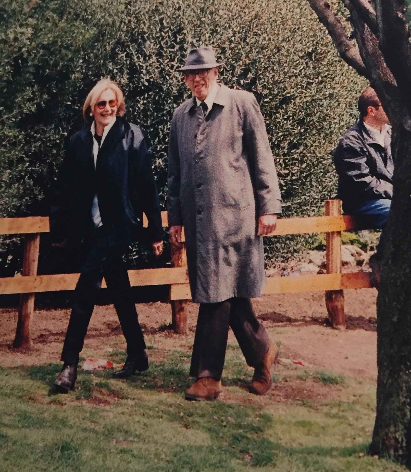 Marilena e Lorenzo Bonomo nel 1999.