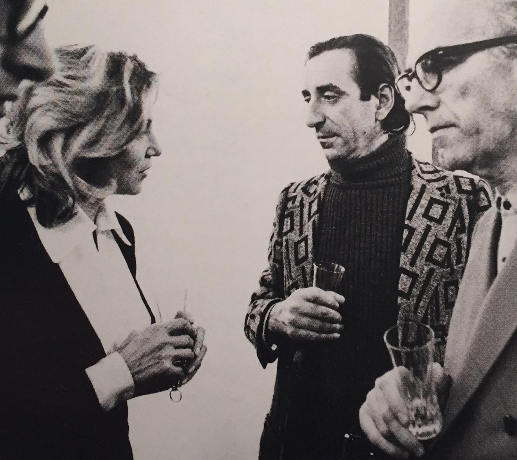 Marilena Bonomo, Lucio Amelio e Lorenzo Bonomo a Napoli negli anni Settanta.