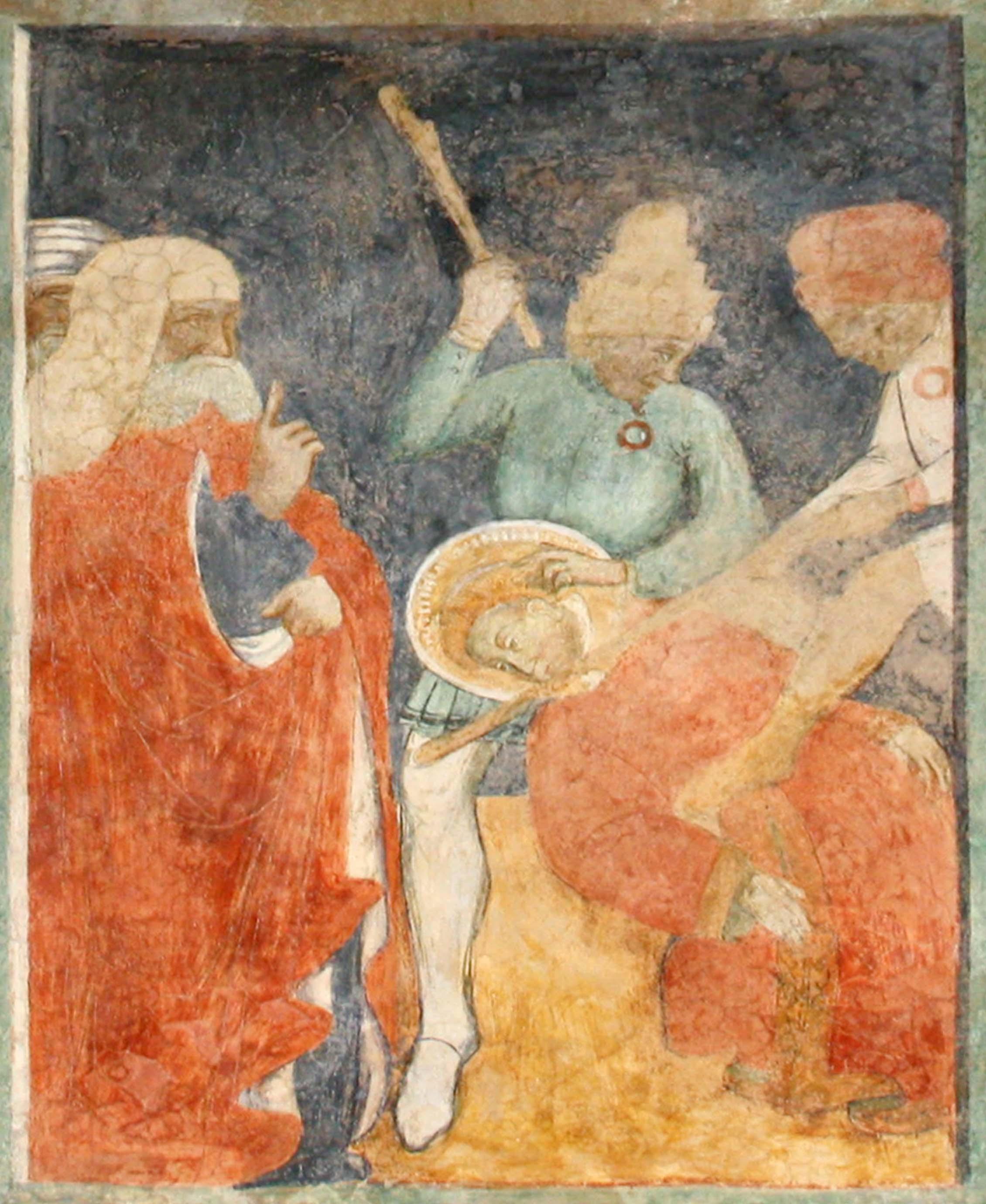 Chiesa di Santo Stefano a Soleto - affreschi