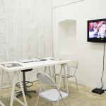 Isamit Morales, MONSTER N.2 PATRIMONY, 2010, Installazione, video, riviste, materiale d'archivio