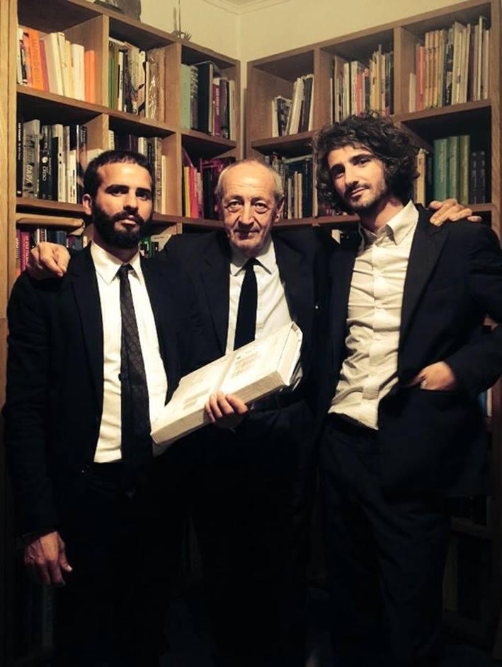 Vincenzo D'Alba, Francesco Moschini e Francesco Maggiore