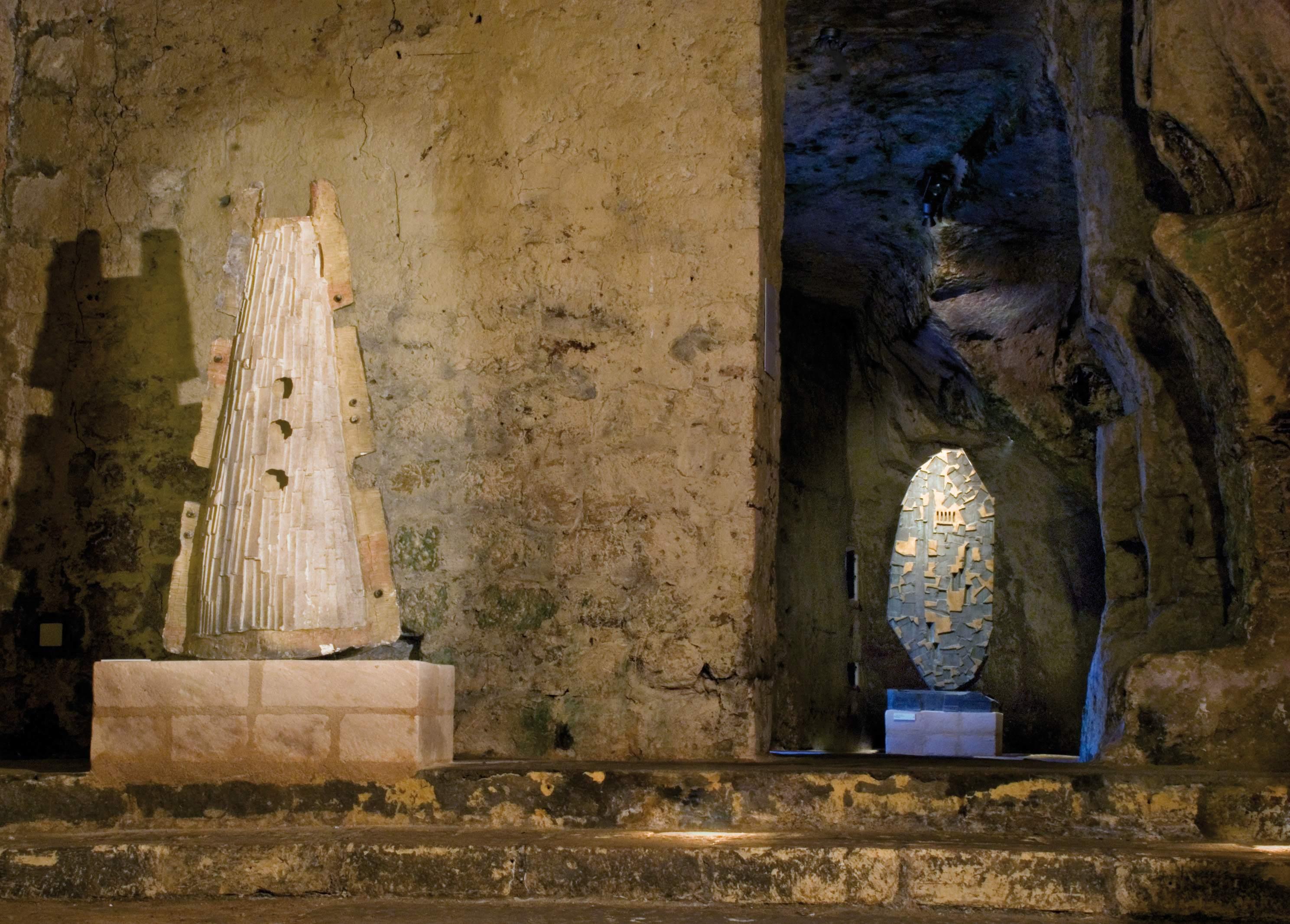 Antologica di Kengiro Azuma nelle chiese rupestri di Matera (a cura di Giuseppe Appella, 2010)