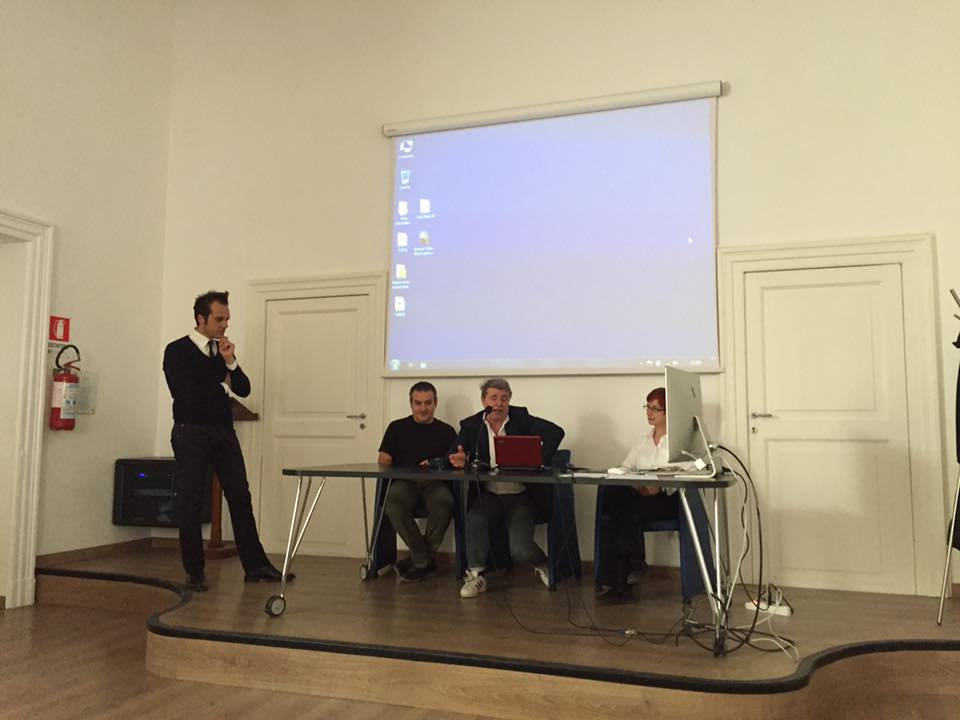 La presentazione del talk in Accademia a Foggia il 18 maggio scorso