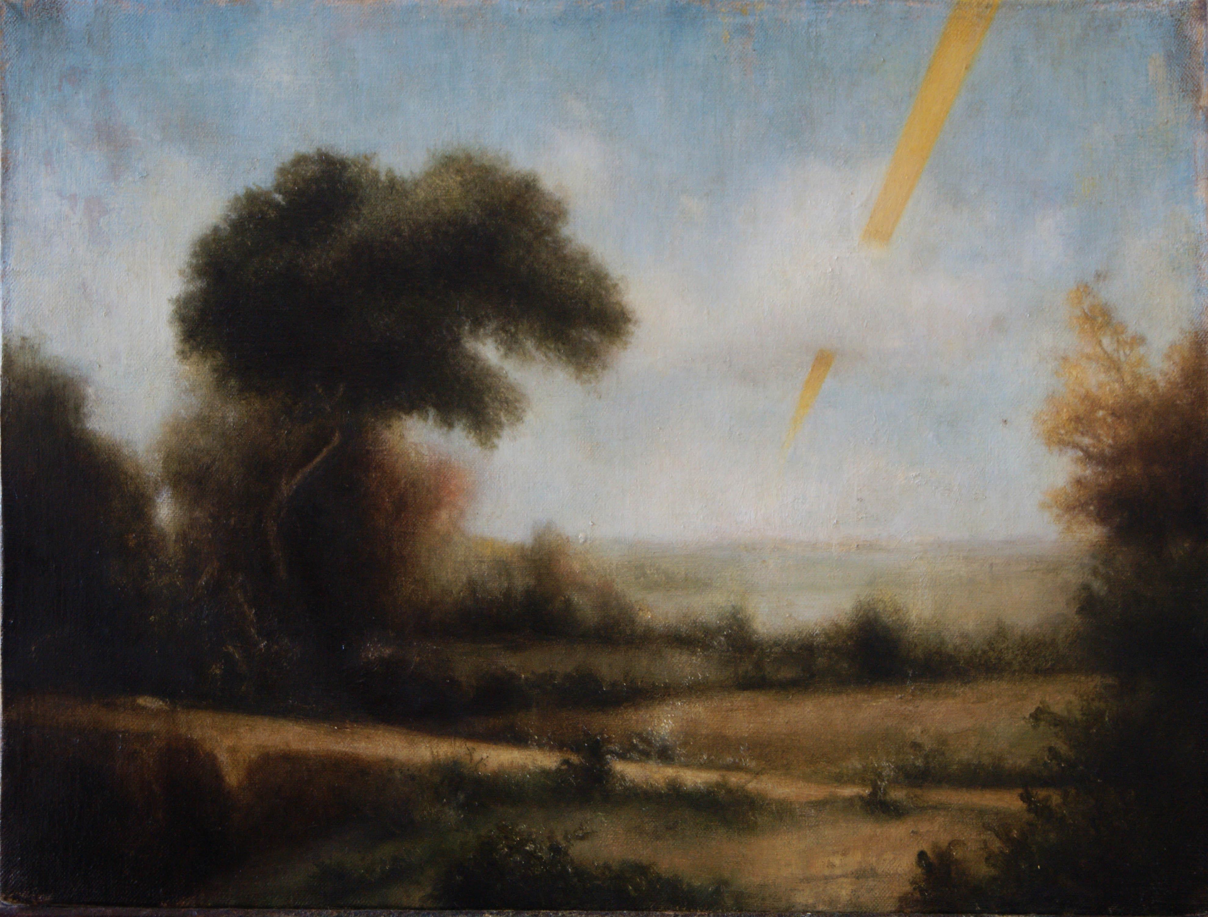 Un dipinto di Marcello Nitti in mostra