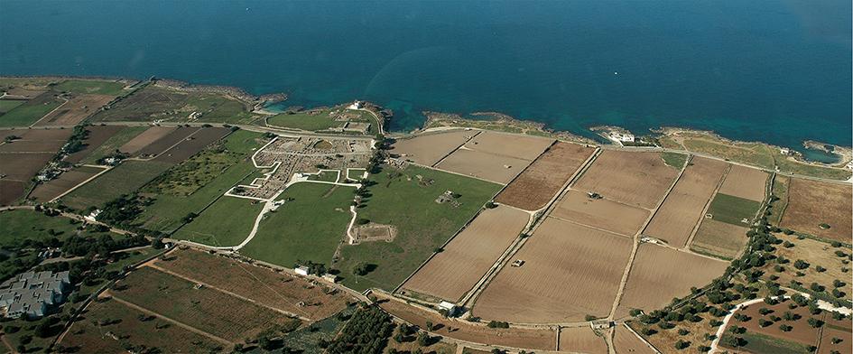 Il paesaggio costiero, Egnazia, il Muraglione
