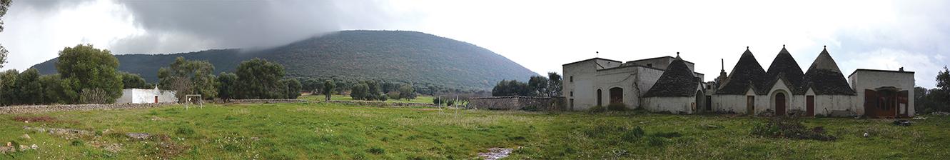 l paesaggio archeologico tutelato, Gianecchia Cisternino (Brindisi)