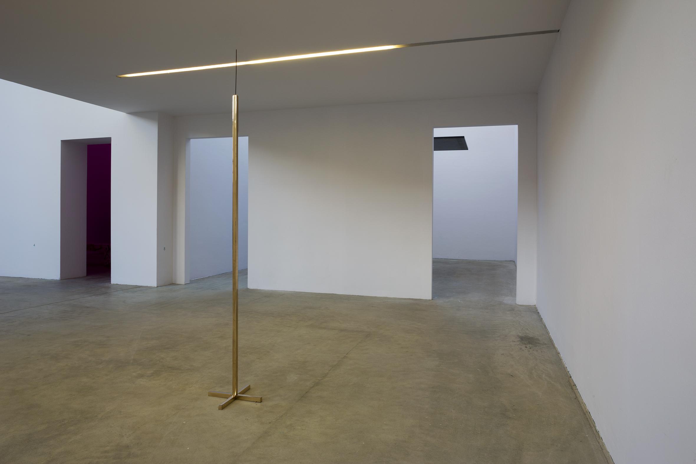 Installazione alla Fondazione Merz, Torino 2017.