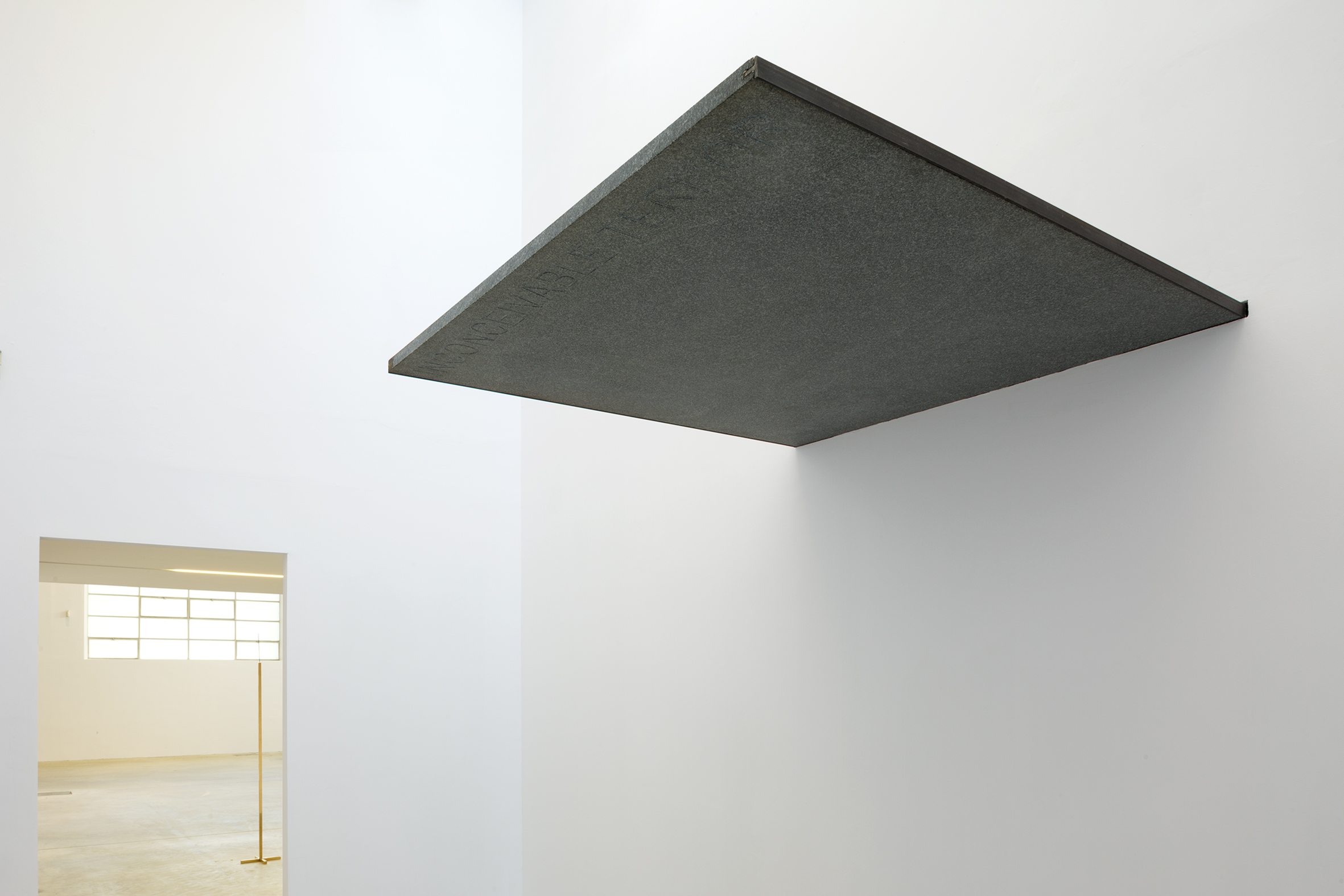 Installazione alla Fondazione Merz, Torino 2017