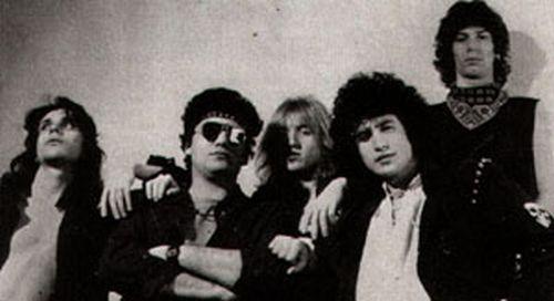 Gli Shining Blade negli anni Ottanta