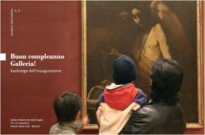 Copertina brochure inaugurazione Galleria