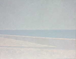 Orizzonte ,olio su tela, cm 40x50, 2009