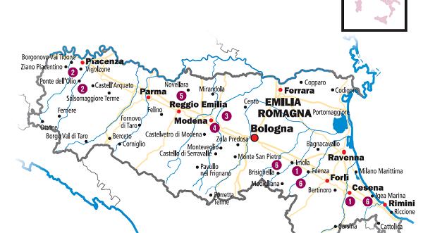 I vini d'Italia 2017: la nuova guida de l'Espresso con le aziende di Parma