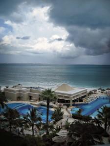 Nuvole su Cancun