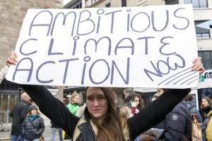 Rally 'To sound the climate alarm', in Geneva