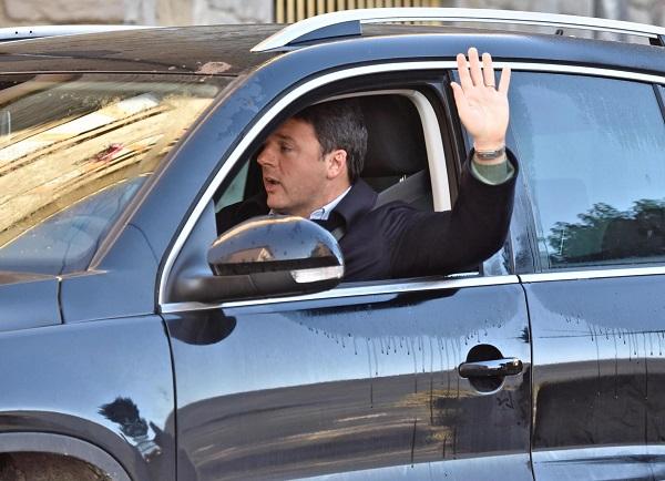 Former Italian Premier Matteo Renzi