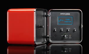 Radio cubo arancio