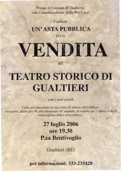 2006-07-27_Teatro all'asta_flyer