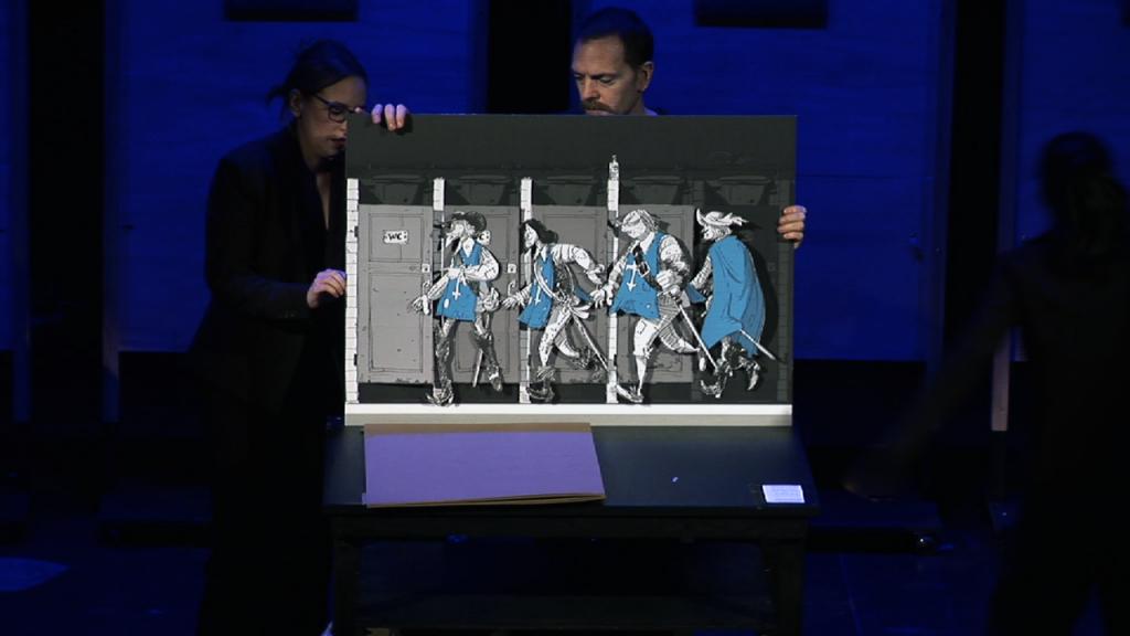 I quattro moschettieri in America I Sacchi di Sabbia - Associazione Teatrale Pistoiese (foto Filippo Basetti