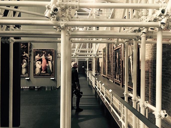 Lenz Fondazione e Robin Rimbaud aka Scanner, Imperial Staircase - immagine di Francesco Pititto (7)