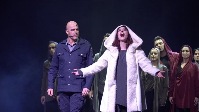 Otello-L'Ultimo bacio, Otello e Desdemona