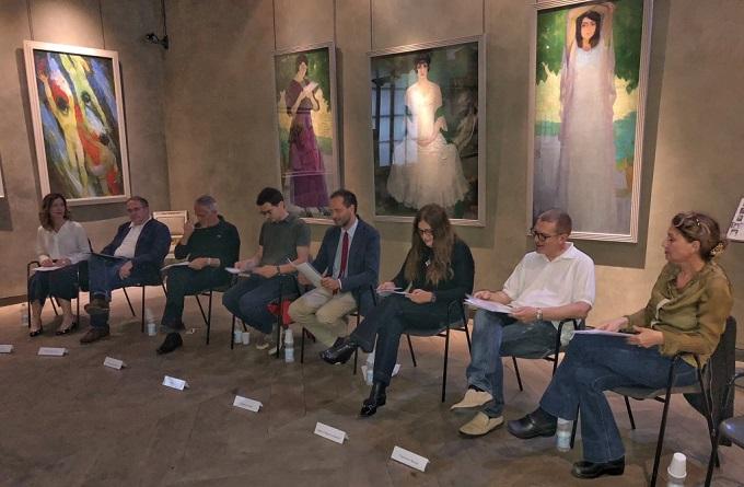 conferenza stampa Festival Natura Dèi Teatri - 14 giugno 2018 - foto di Enrico Zermani - light
