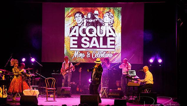 Acqua e Sale live