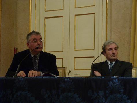 Giancarlo Landini e Achille Mascheroni