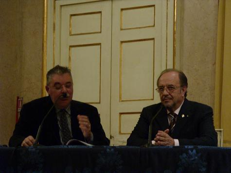 Giancarlo Landini e Leo Nucci