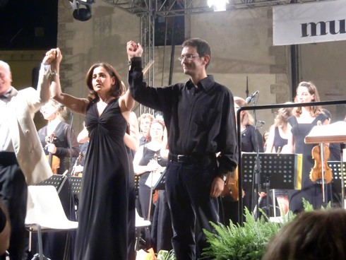 Gabriella Corsaro e Sebastiano Rolli