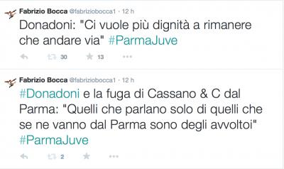 Tweet Donadoni