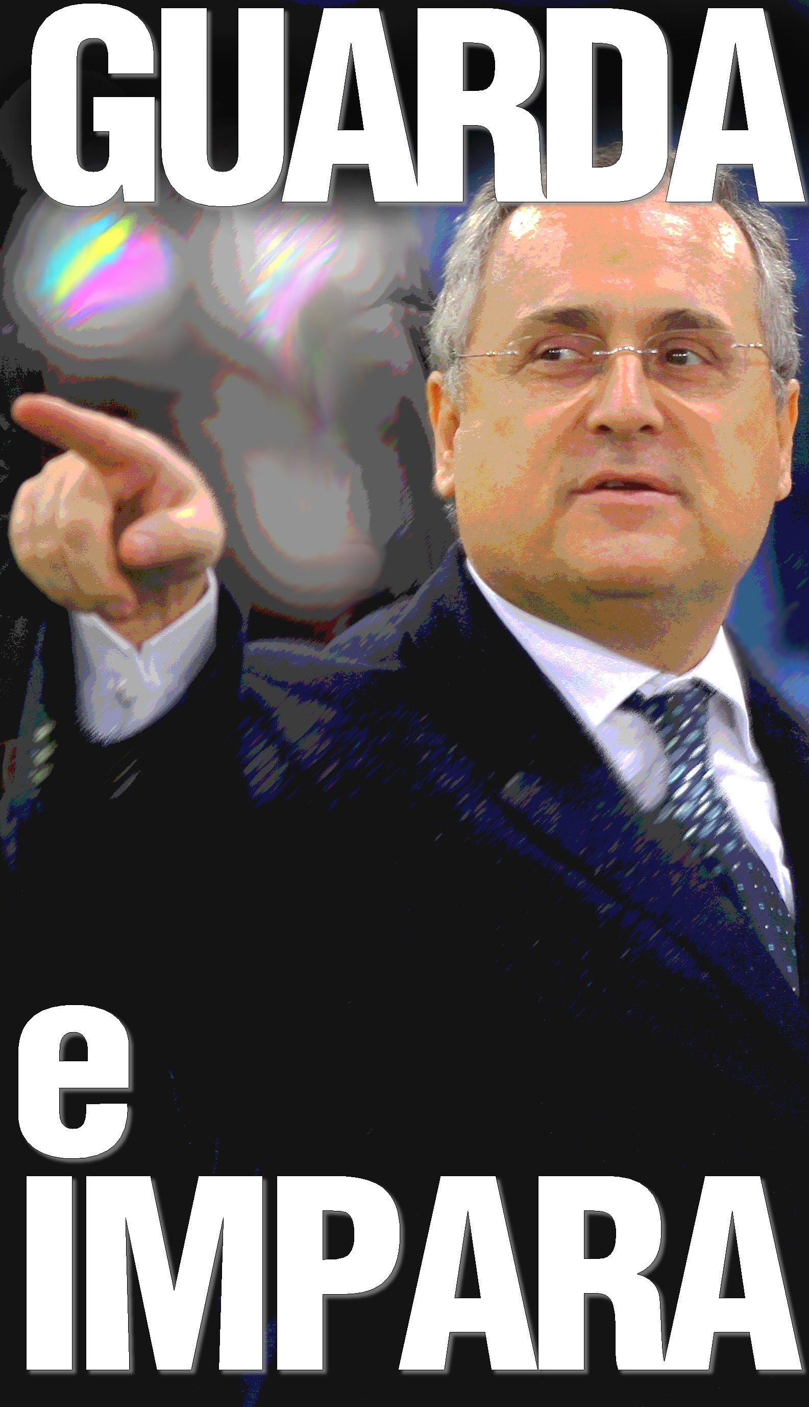 Se certi grandi pensatori del calcio italiano leggi Claudio Lotito cos¬ tanto per tirar fuori un nome a caso riuscissero a realizzare il loro pro to