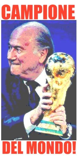 Blatter campione del mondo