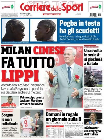 Corriere Sport Lippi