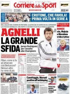 Corriere dello Sport Agnelli