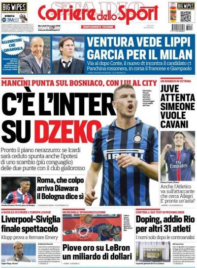 Corriere dello Sport Dzeko