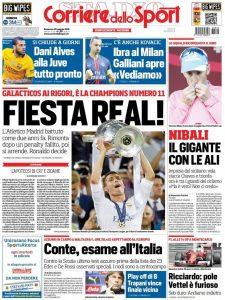 Corriere dello Sport Fiesta Real