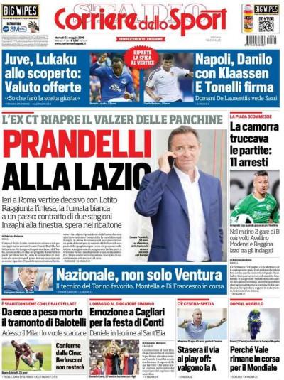 Corriere dello Sport Prandelli