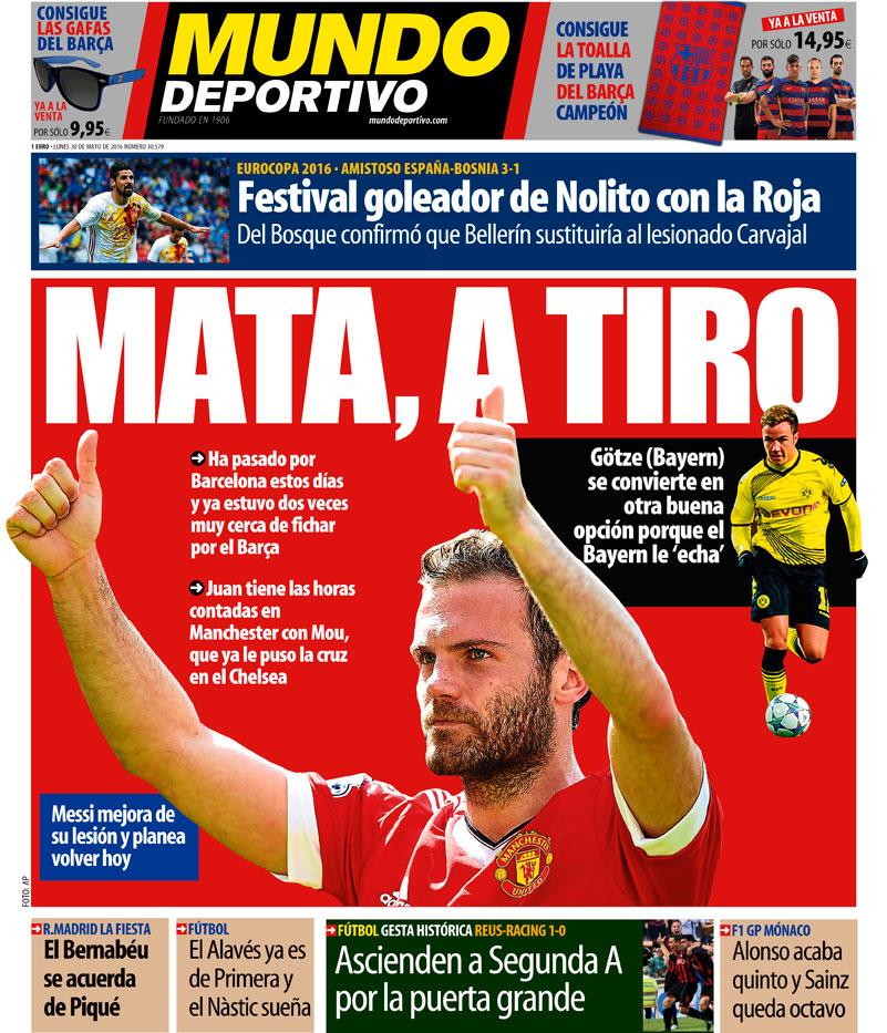 Mundo Deportivo Mata