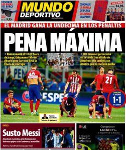 Mundo Deportivo Pena Maxima