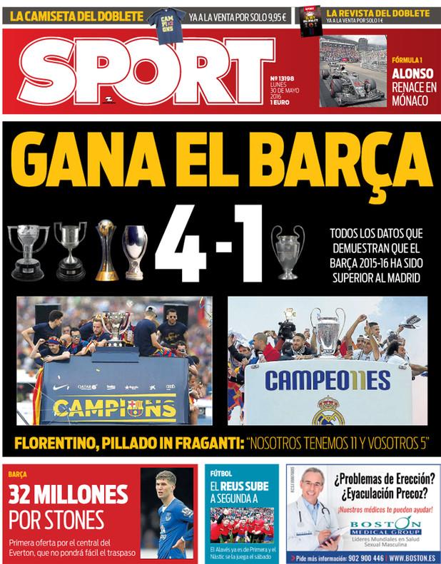 Sport Barca 4-1