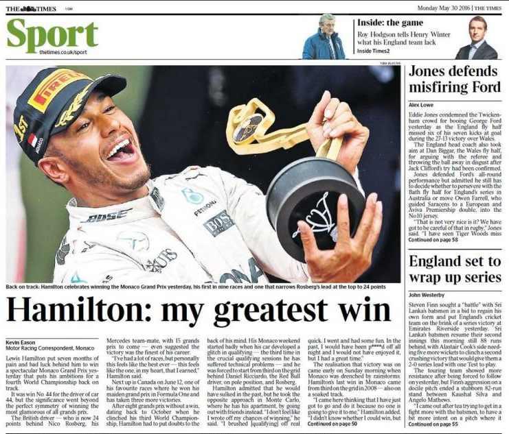 Times Hamilton