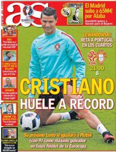 As Record Ronaldo
