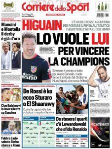 Corriere dello Sport Simeone