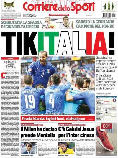 Corriere dello sport tikitalia