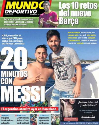 Mundo Deportivo Messi