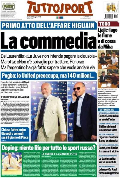 Tuttosport Commedia
