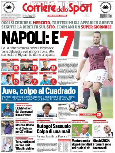 Corriere dello Sport Maksimovic