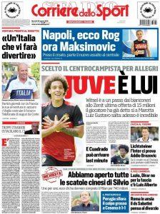 Corriere dello Sport Witsel