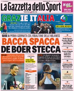 Gazzetta Bacca spacca