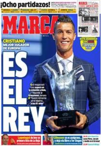 Marca Ronaldo premio